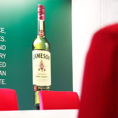 Irish Distillers Pernod-Ricard Jameson Boardroom